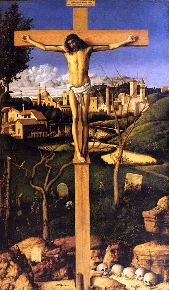 The Crucifixion by Giovanni Bellini