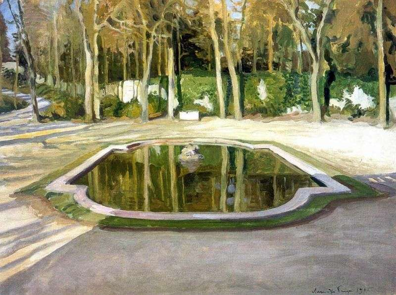 Mirror in Trianon by Alexander Benois