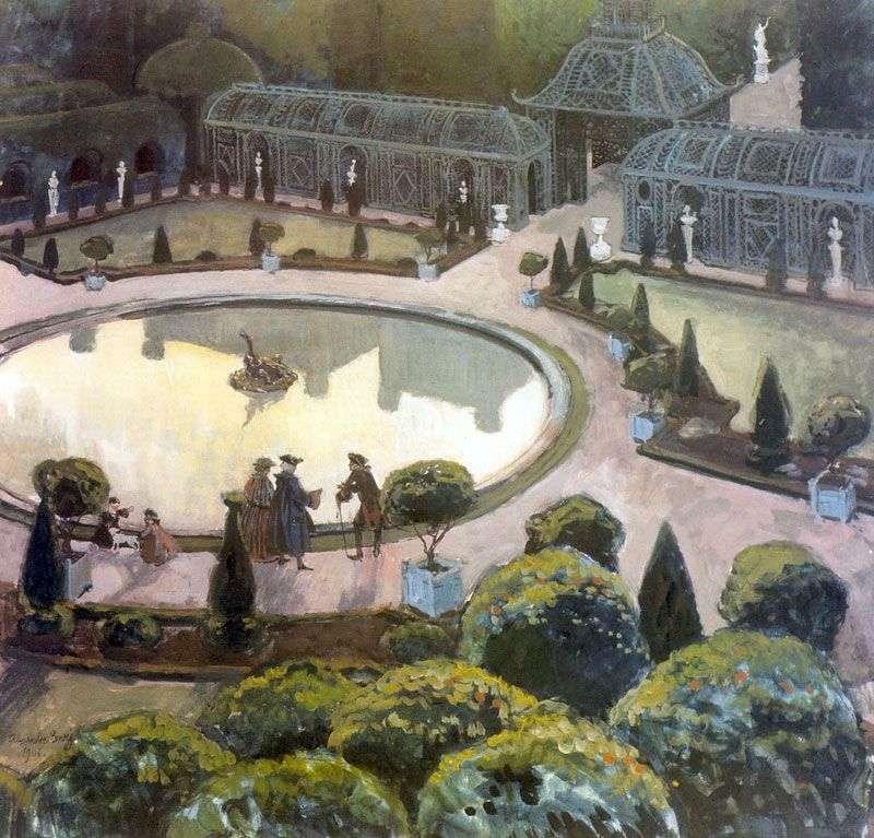 Greenhouse. Versailles by Alexander Benois