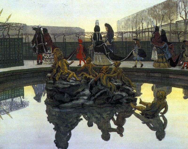 The Kings Walk by Alexander Benois