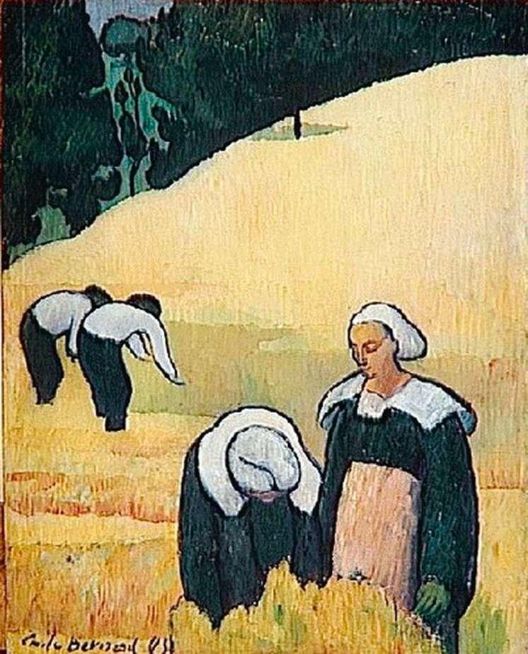 The Breton landscape by Emil Bernard