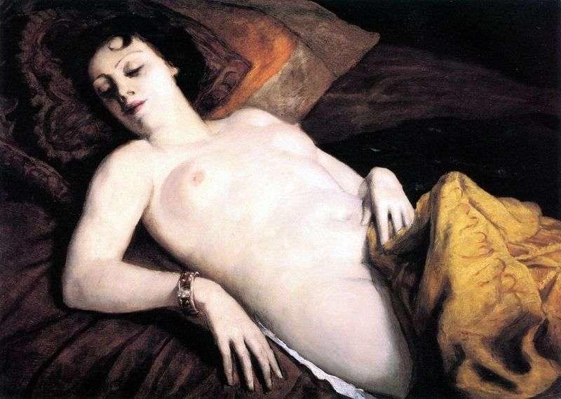 Nude with a bracelet by Emil Bernard