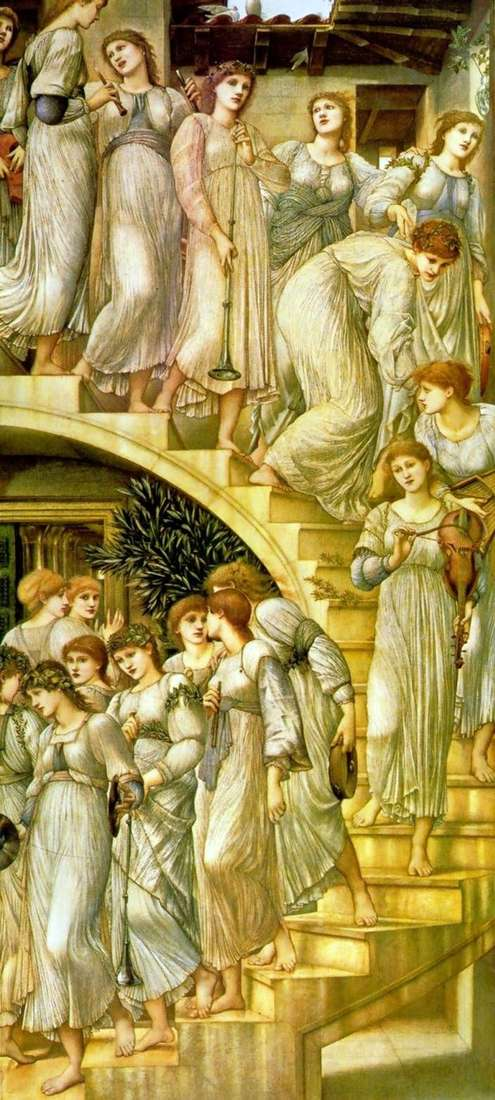 The Golden Staircase by Edward Burne Jones