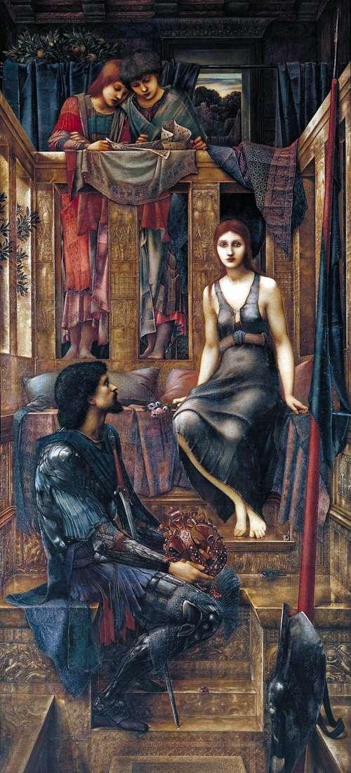 King Kofetua and beggar girl by Edward Burne Jones