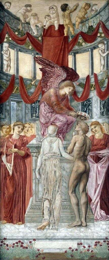 The Temple of Love by Edward Burne Jones