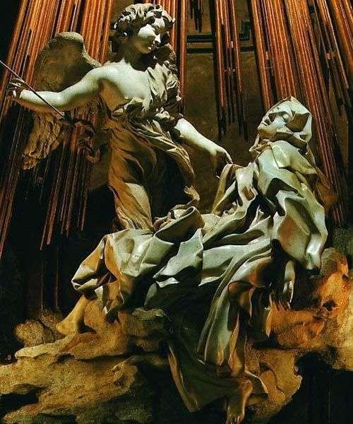 The ecstasy of St. Teresa by Lorenzo Bernini