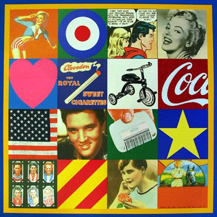 The Origins of Pop III by Peter Blake