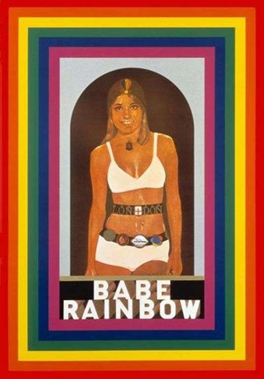 Bebe Rainbow   Peter Blake