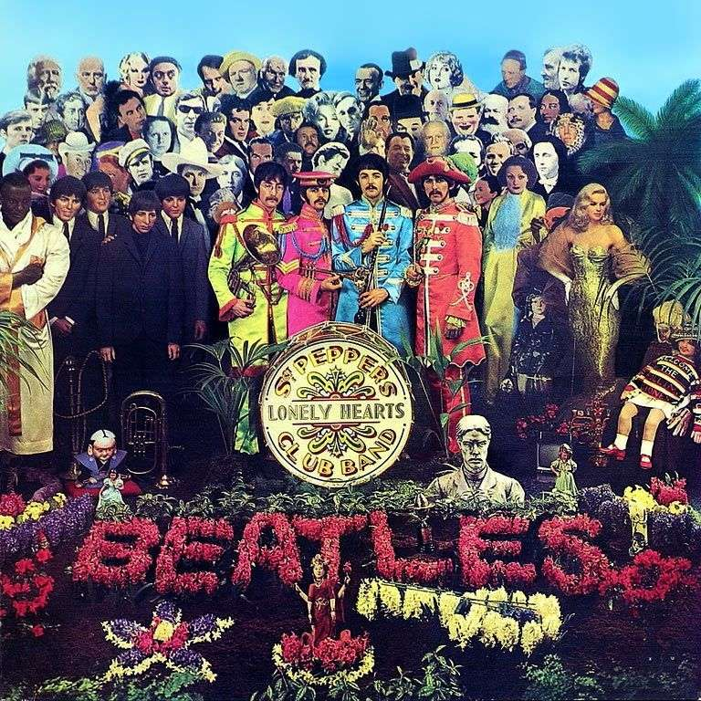 Club of lonely hearts of Sergeant Pepper by Peter Blake