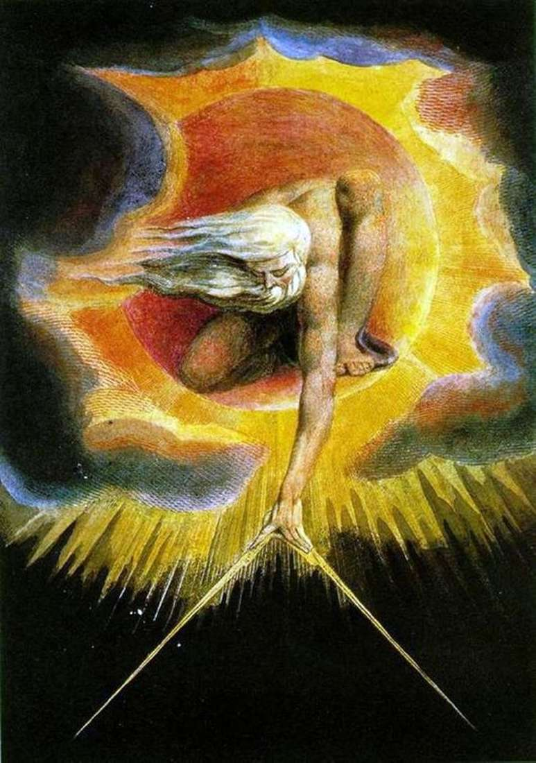 The Great Architect (The Creation) by William Blake