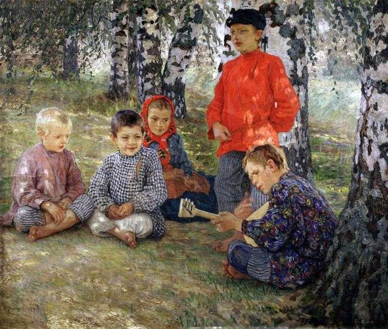 Virtuoso by Nikolay Bogdanov Belsky