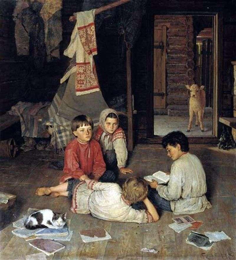 New tale by Nikolay Bogdanov Belsky