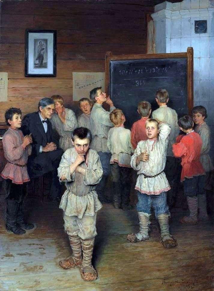 Oral account by Nikolay Bogdanov Belsky