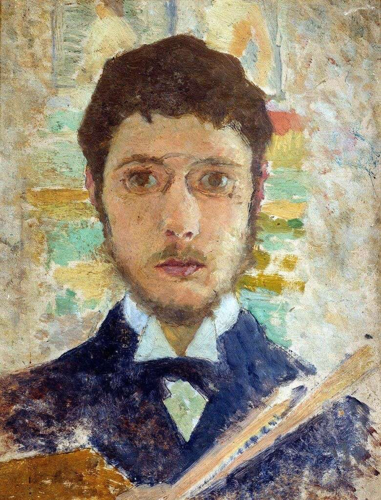 Self portrait by Pierre Bonnard