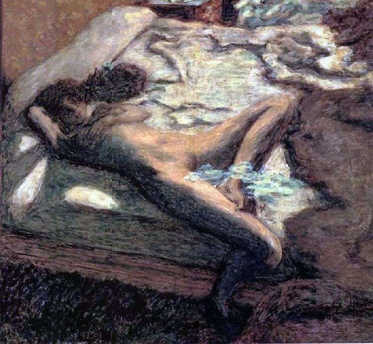 Idle Woman by Pierre Bonnard