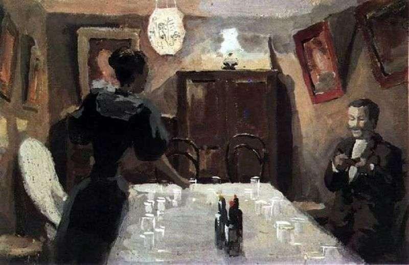 Waiting for guests by Victor Elpidiforovich Borisov Musatov