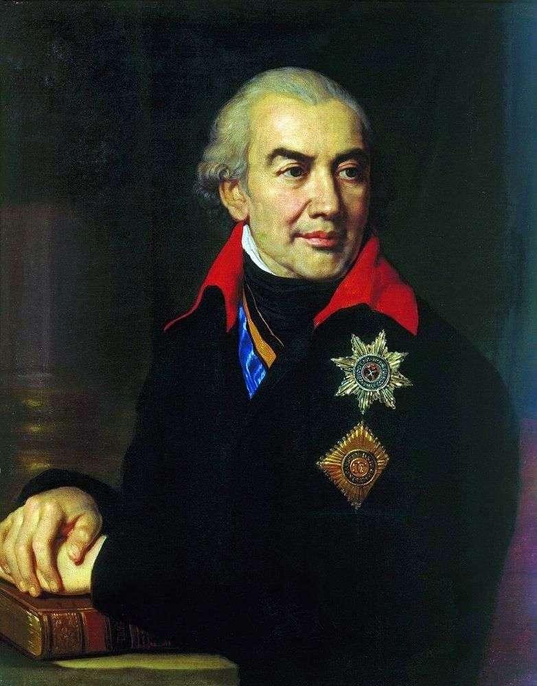 Portrait of G. S. Volkonsky by Vladimir Borovikovsky