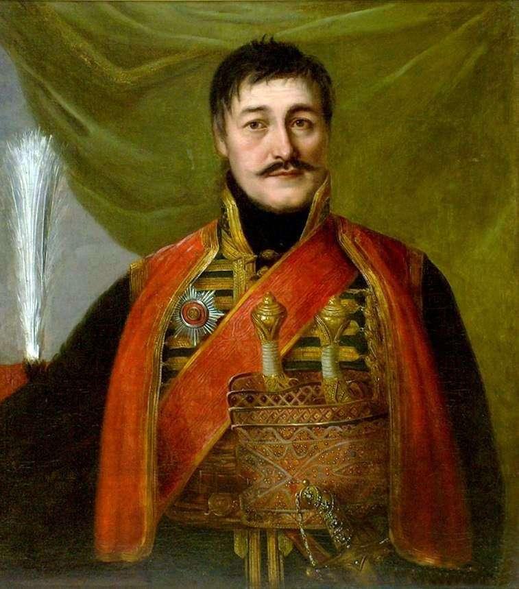 Portrait of Karageorgia by Vladimir Borovikovsky