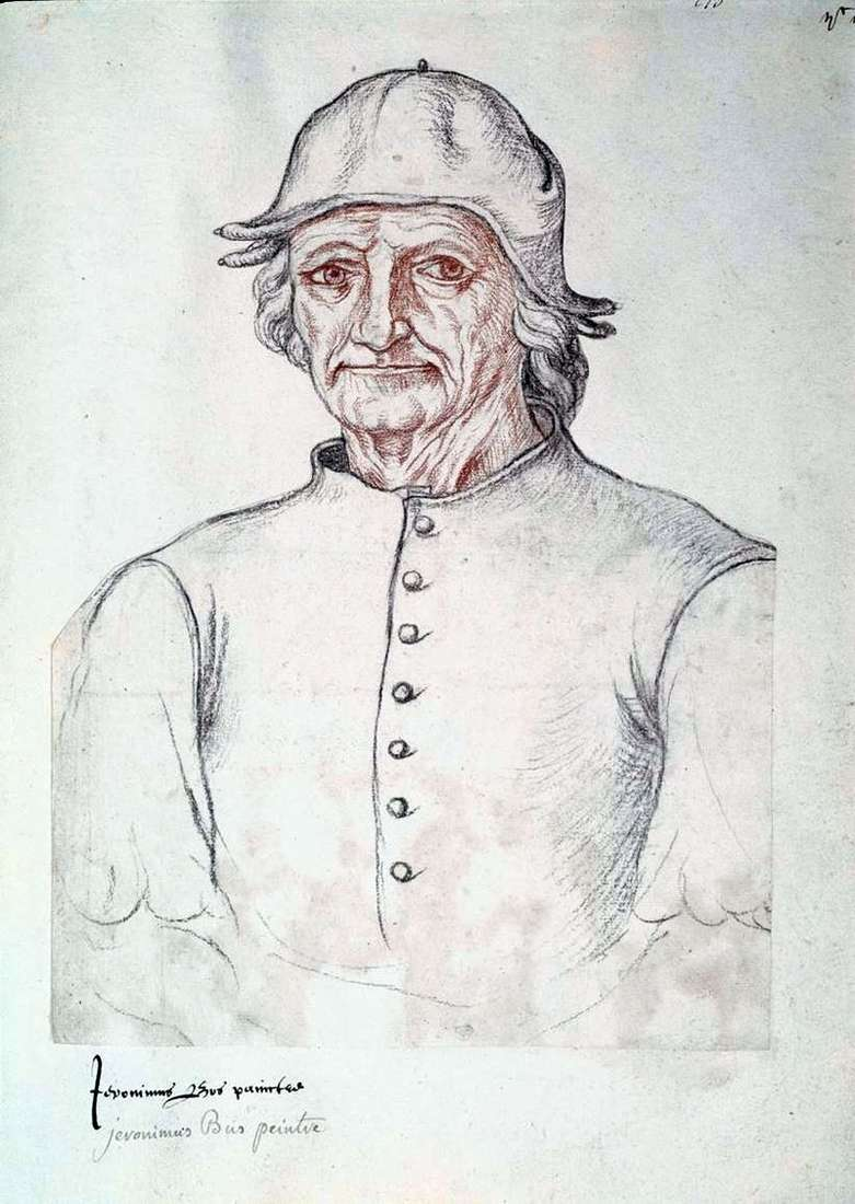 Self portrait by Hieronymus Bosch