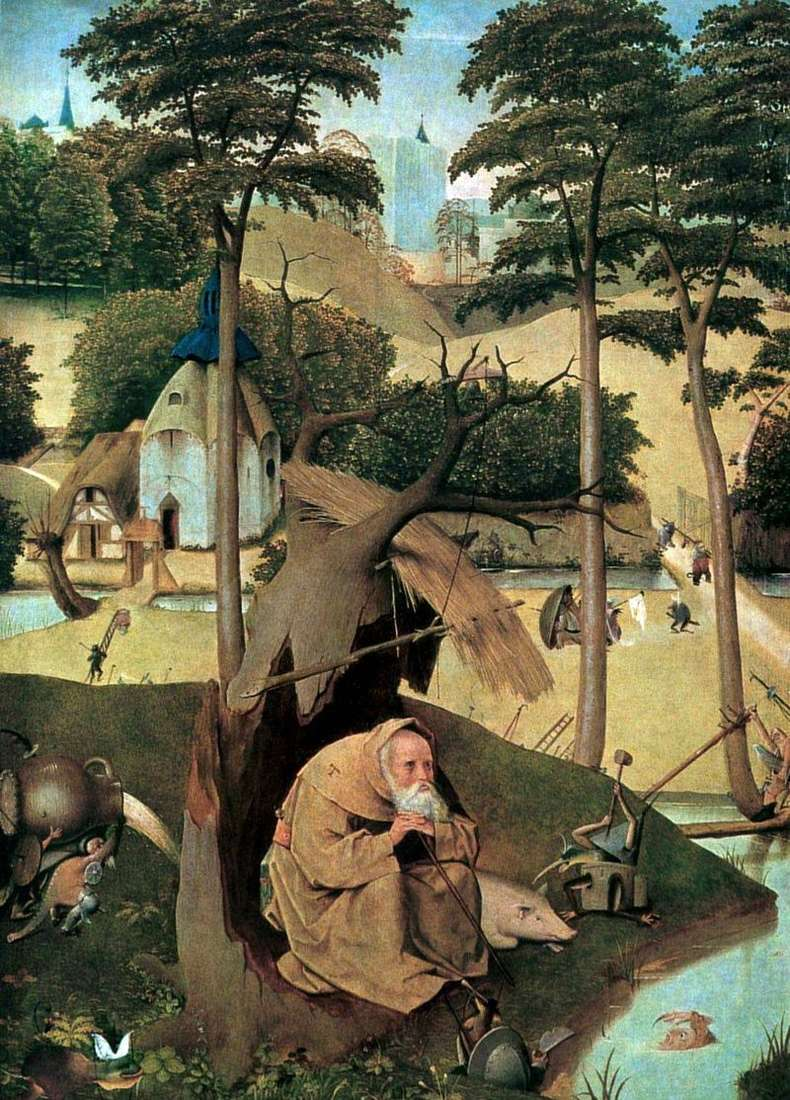 Saint Anthony by Hieronymus Bosch