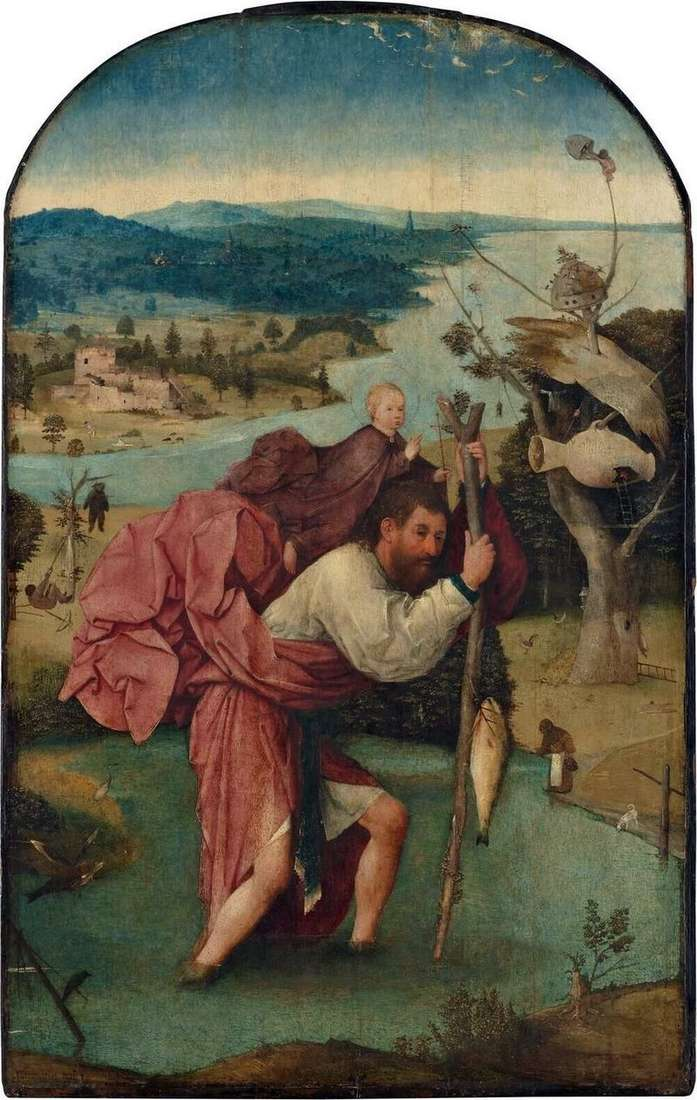 Saint Christopher by Hieronymus Bosch