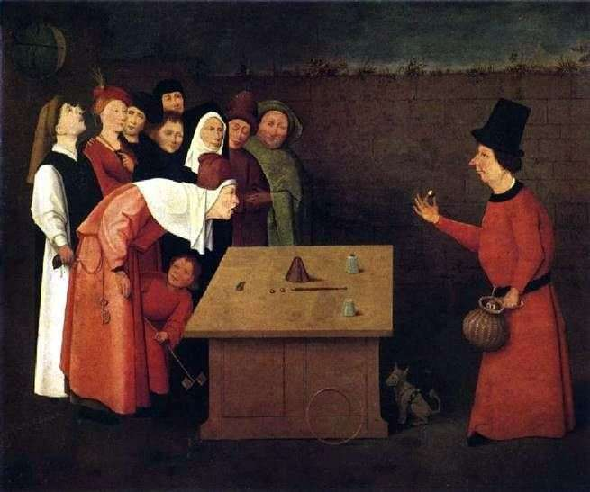 Magician Charlatan by Hieronymus Bosch