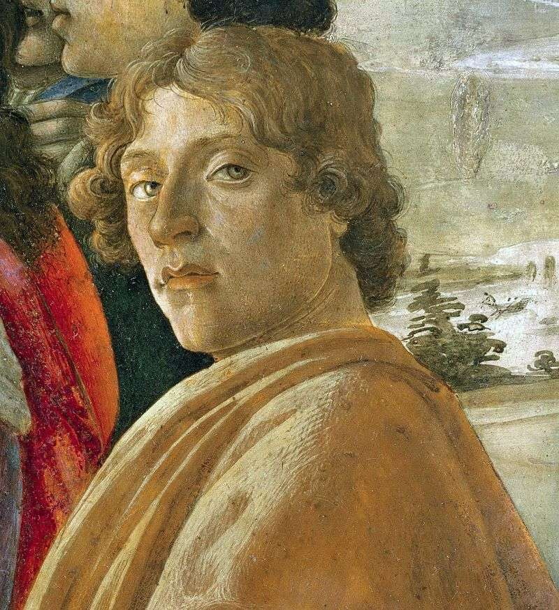Self portrait by Sandro Botticelli