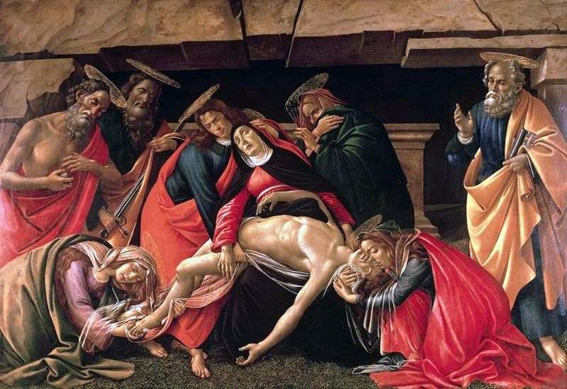 The situation in the grave is Sandro Botticelli