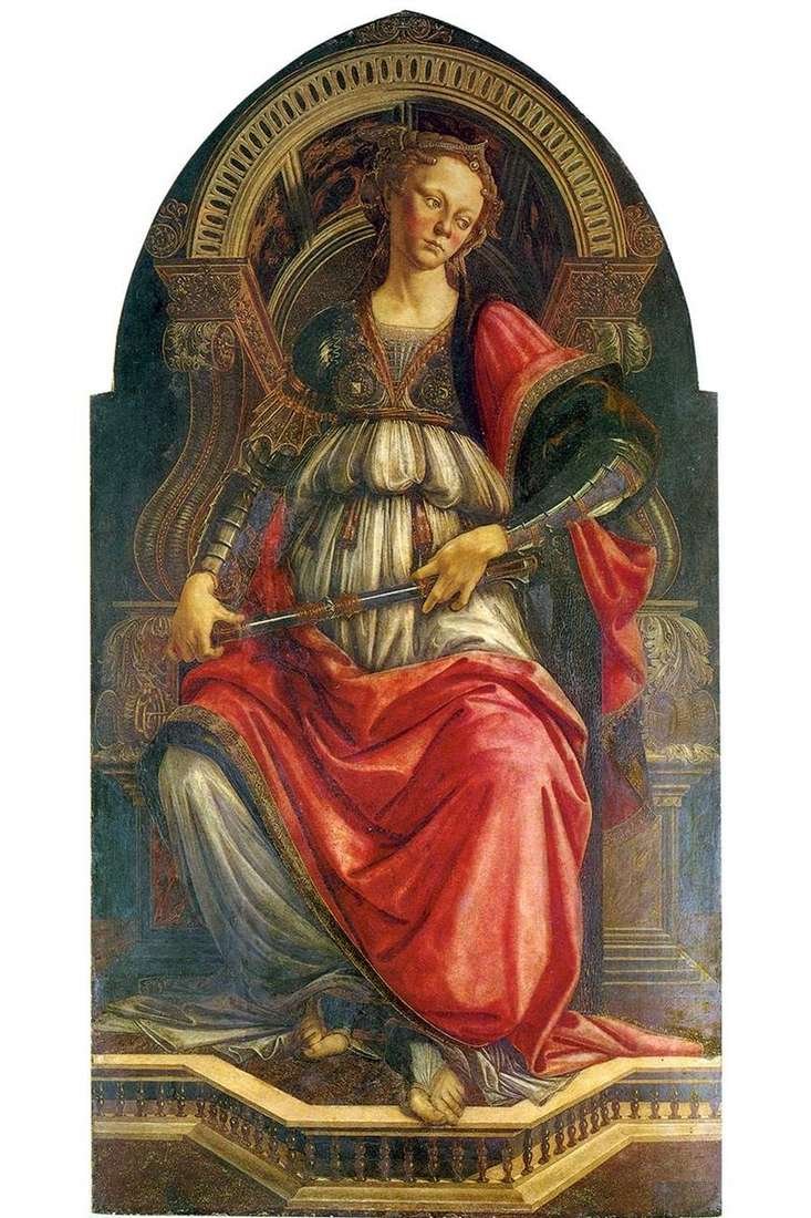 Allegory of Strength (Fortitude) by Sandro Botticelli