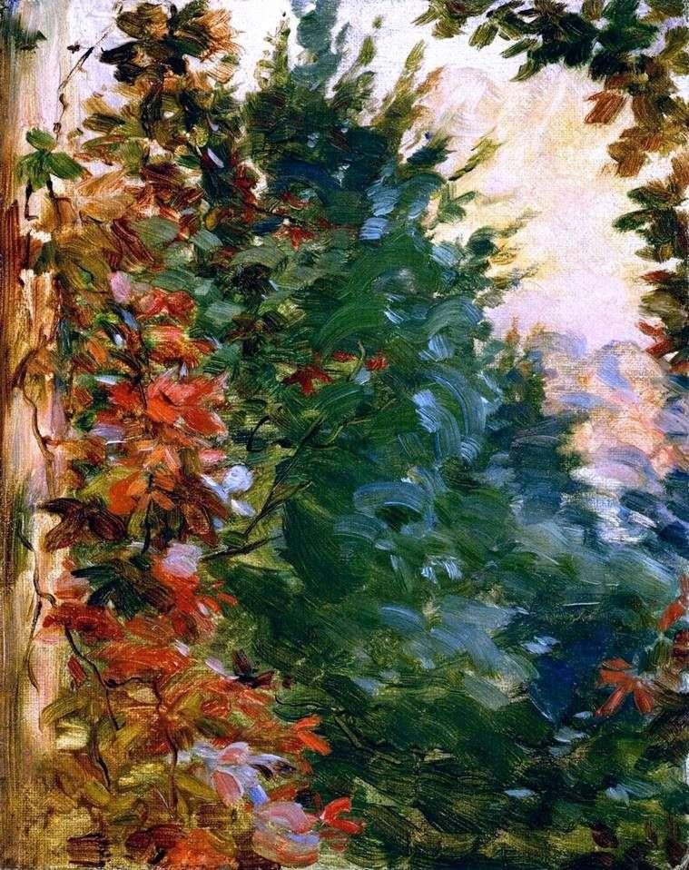 Garden View by Marie Brackemont