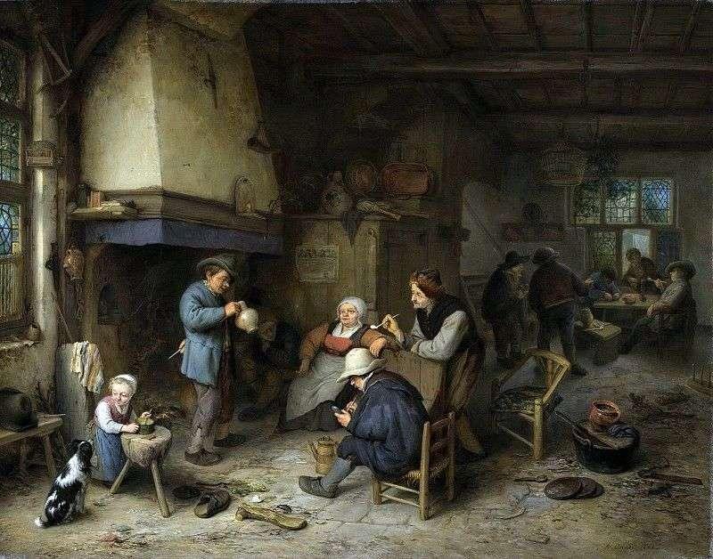 Drinker by Adrian Brouwer