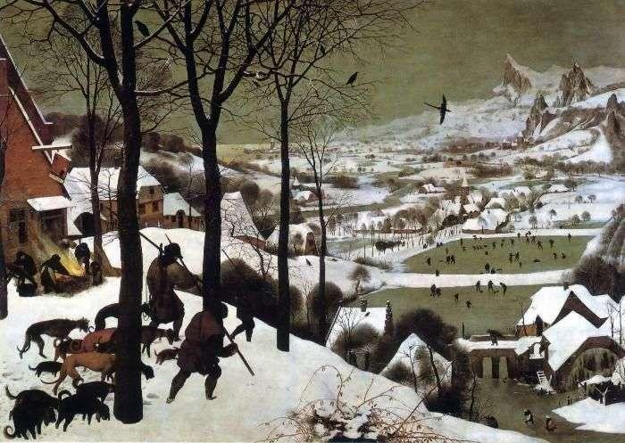 The Return of the Hunters by Peter the Elder Brueghel