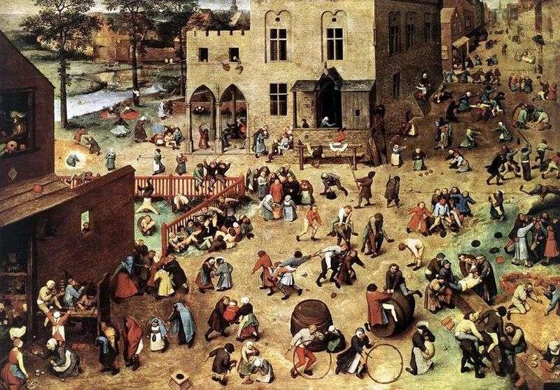 Childrens Games by Peter Brueghel