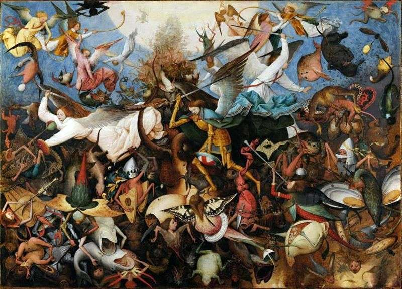 The Exile of the Fallen Angels by Peter Brueghel