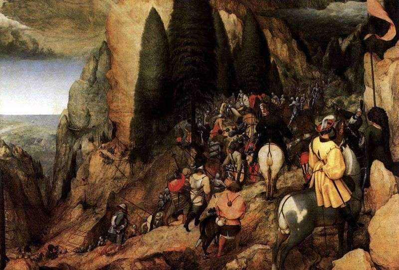 The Conversion of Saul by Peter Brueghel
