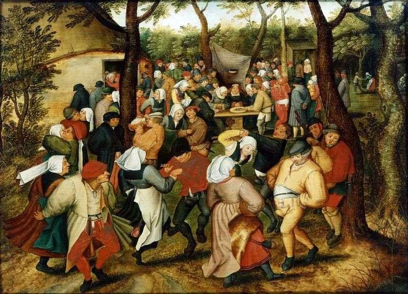 Wedding Dance by Peter Brueghel