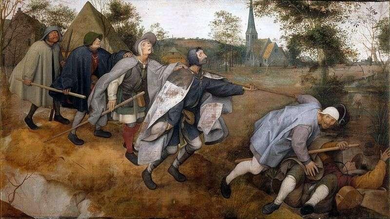 The Blind by Peter Brueghel