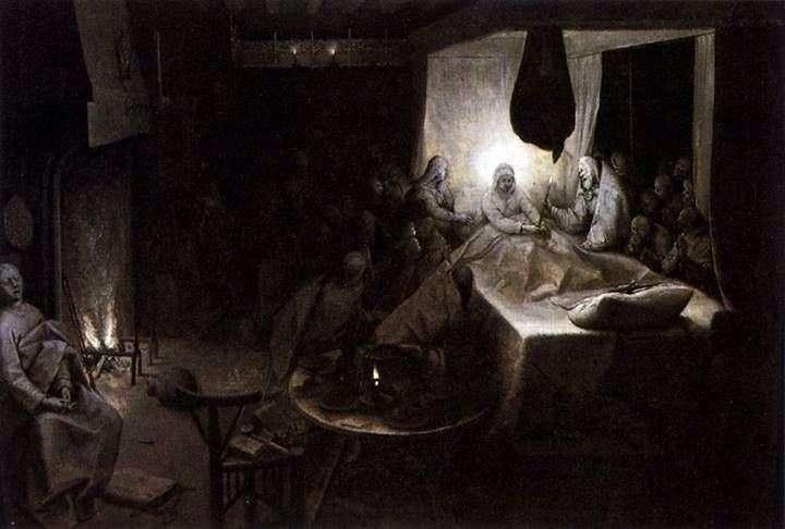Assumption of the Virgin by Peter Brueghel