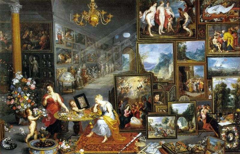 Allegory of the Sight by Jan Brueghel