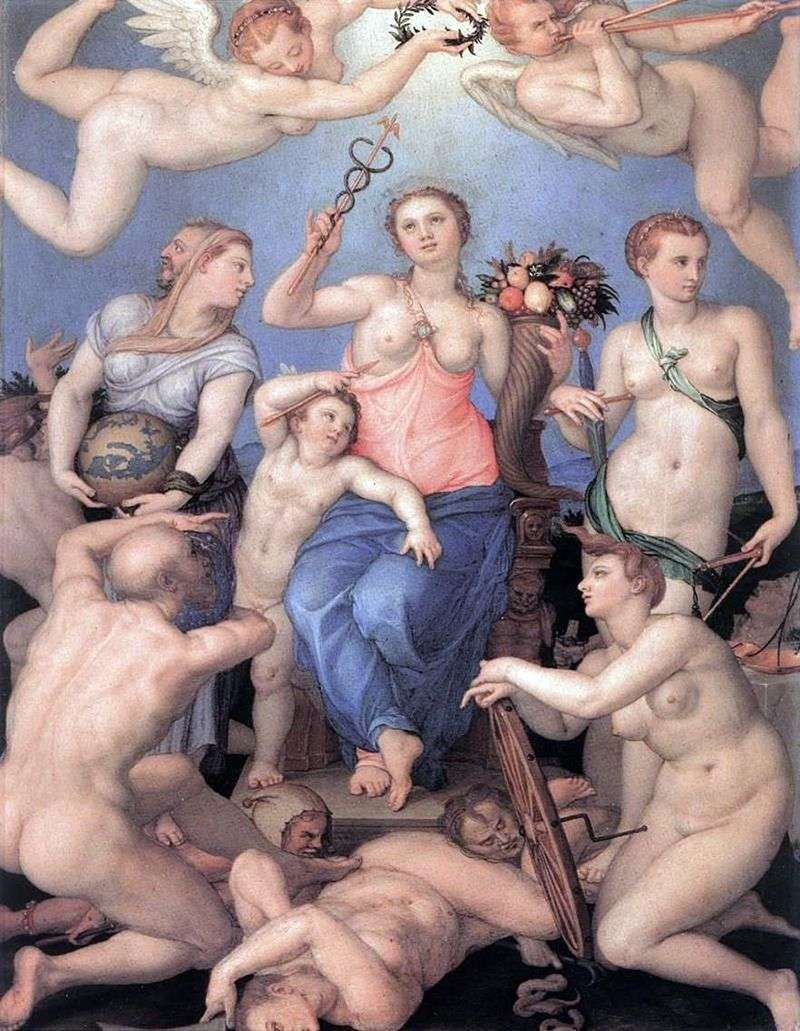 Allegory of Happiness by Agnolo Bronzino