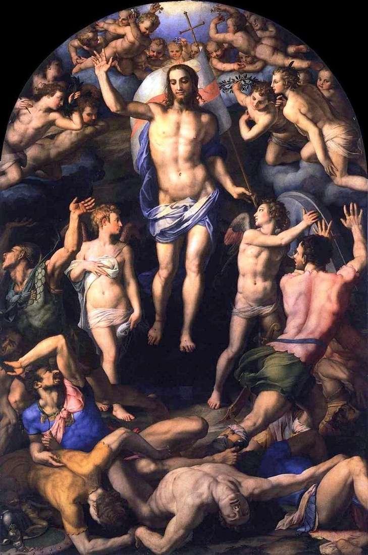 The Resurrection of Christ by Agnolo Bronzino