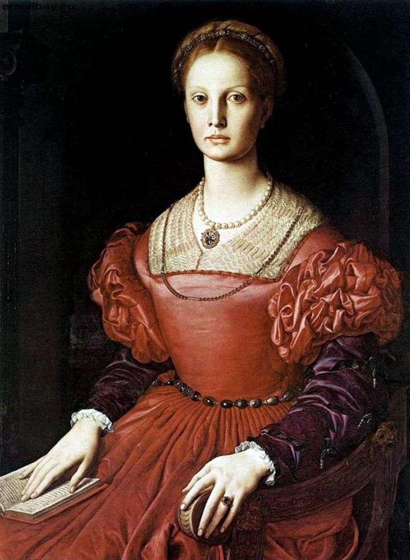 Lucrezia Panchiatiki by Agnolo Bronzino