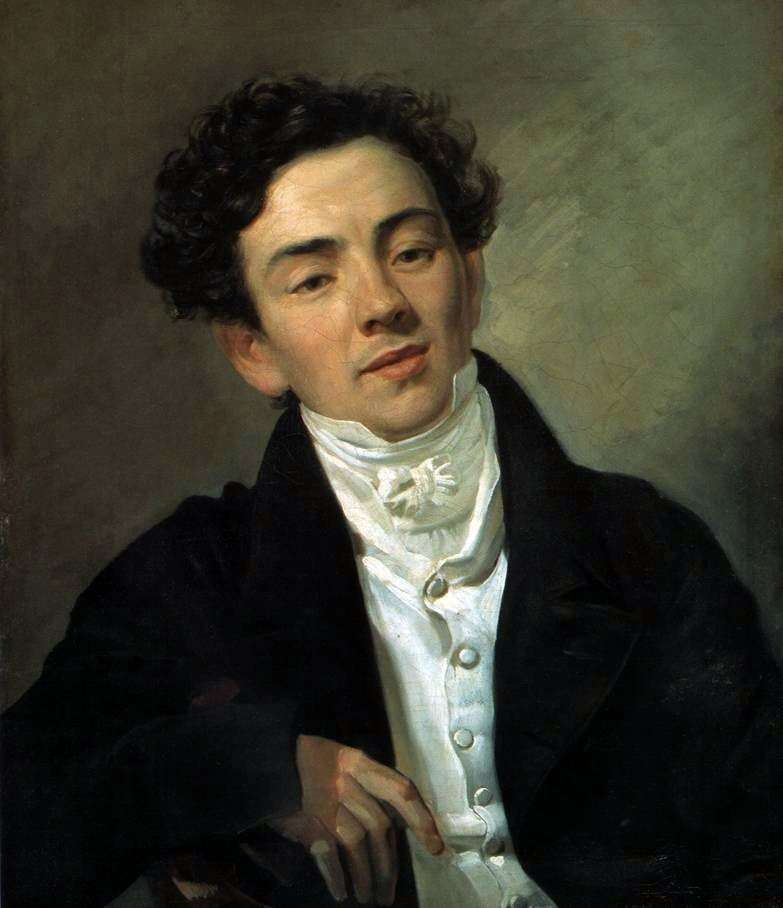 Portrait of A. N. Ramazanov by Karl Bryullov