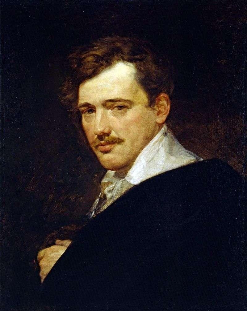 Portrait of AN Lvov by Karl Bryullov