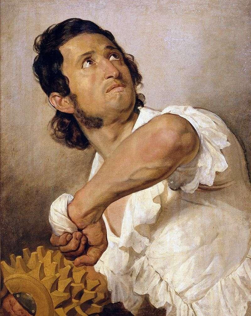 Portrait of Domenico Marini by Karl Bryullov