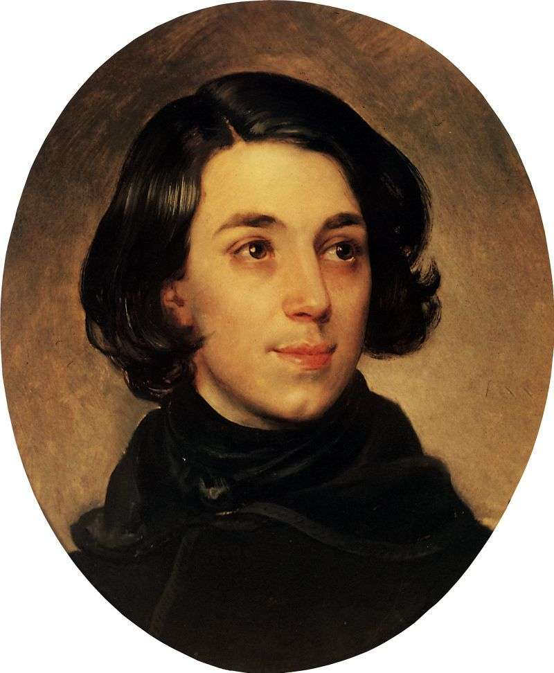 Portrait of I. A. Monighetti by Karl Bryullov