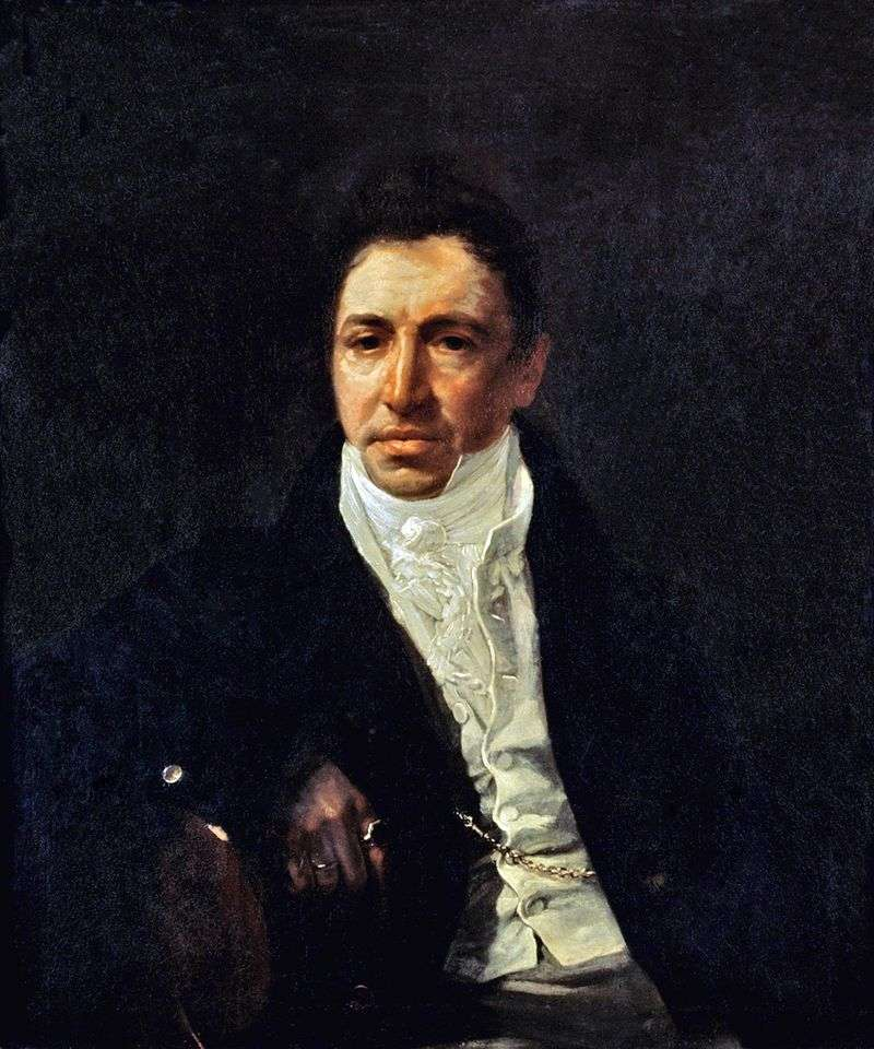 Portrait of PA Kikin by Karl Bryullov