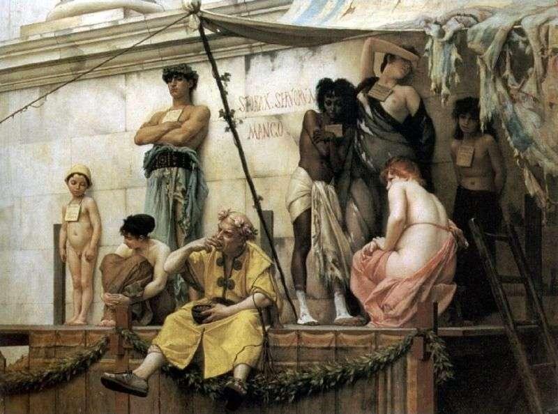 Slave Market by Gustav Rudolf Boulanger