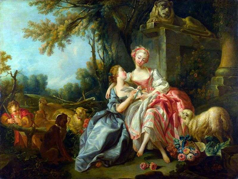 Love letter by Francois Boucher
