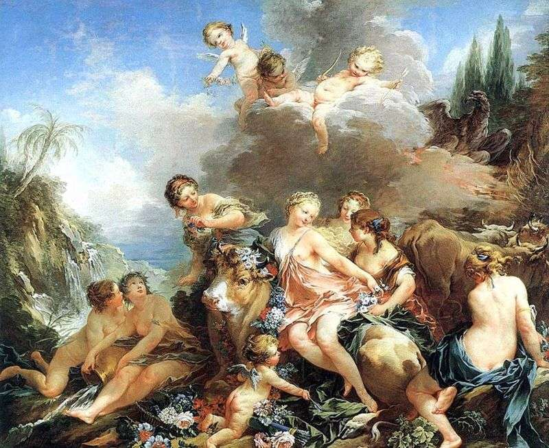 Abduction of Europe by Francois Boucher
